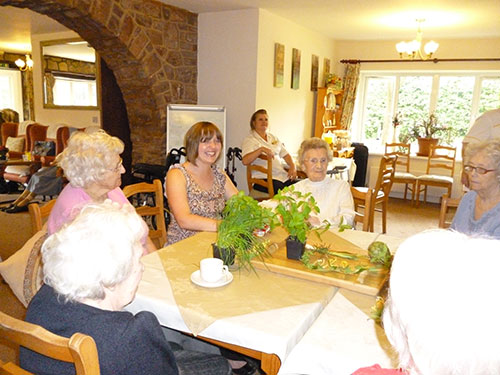 care home in south wales